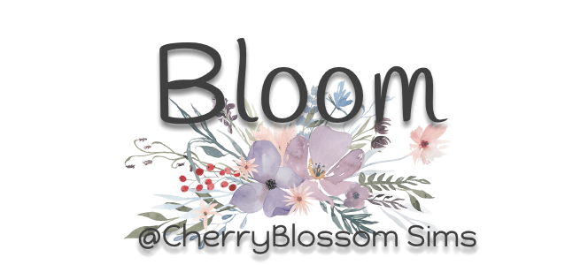 Bloom @ Cherryblossom sims