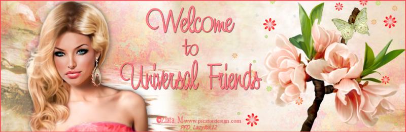 Universal Friends & Freebies