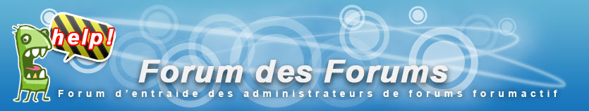 Forum de test Forumactif