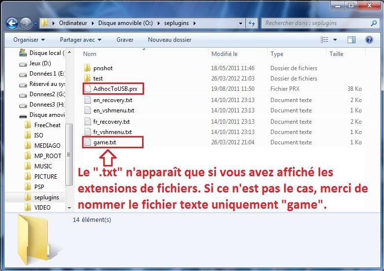 [ PSP ] XLink Kaï : Jouer en ligne graçe à un pc 1334958892-InstallationAdhoctousb2