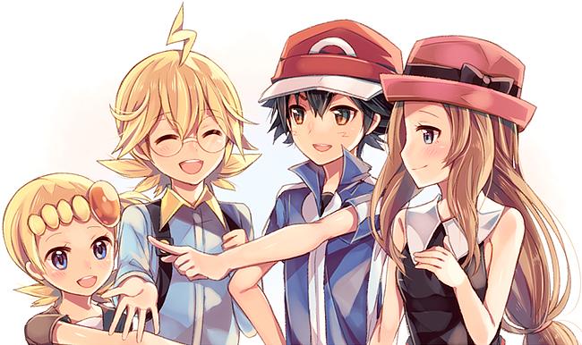 TinhYeuDichThucShipping [Sacha/Ash/Satoshi x Lem/Clemont/Citron x Clem/Bonnie/Yurika x Serena] 1384610893-cute-poke-group