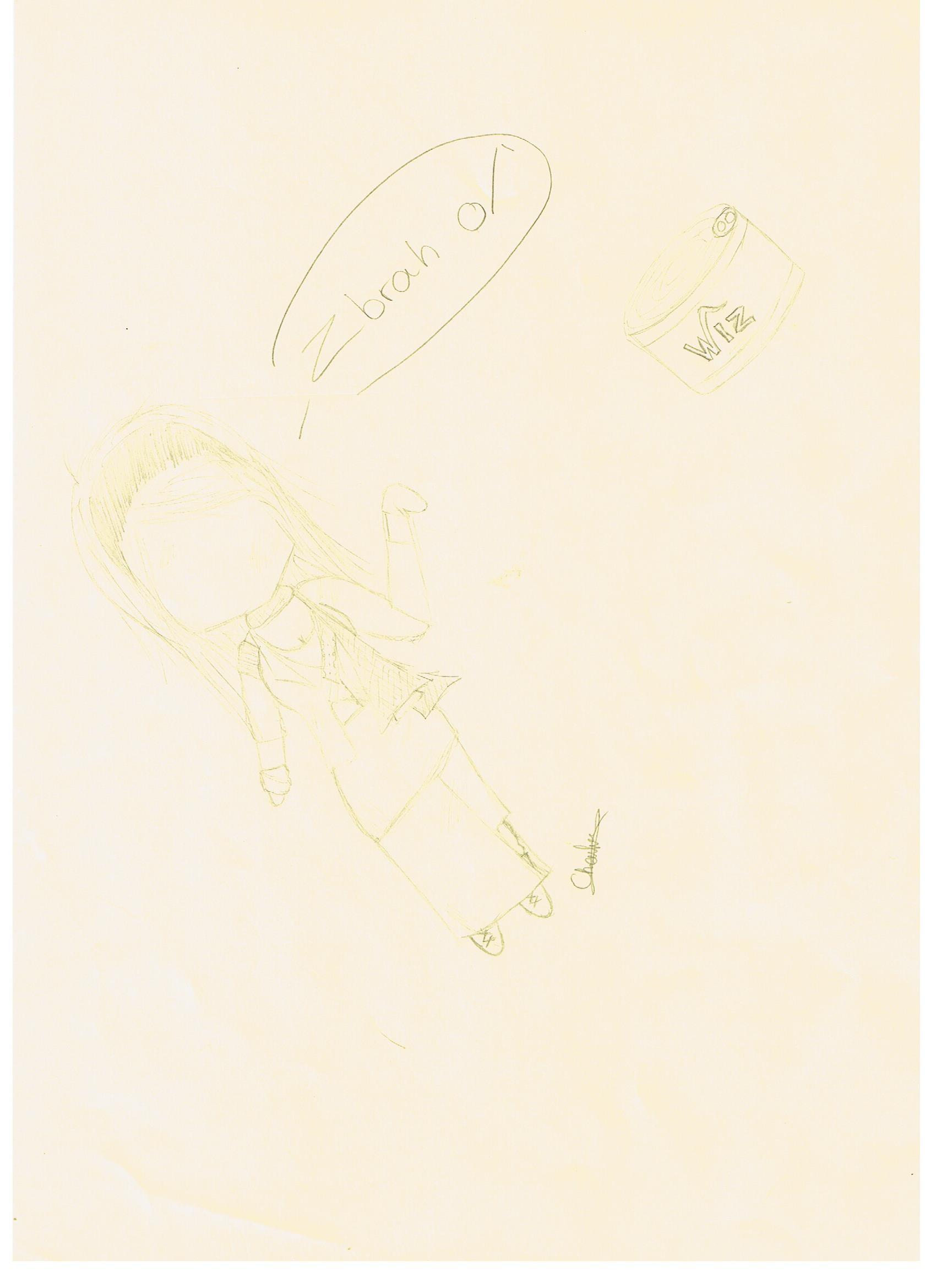 [Dessins] Fan-arts du Visiteur du Futur 1415388352-neov-clocharde-wiz