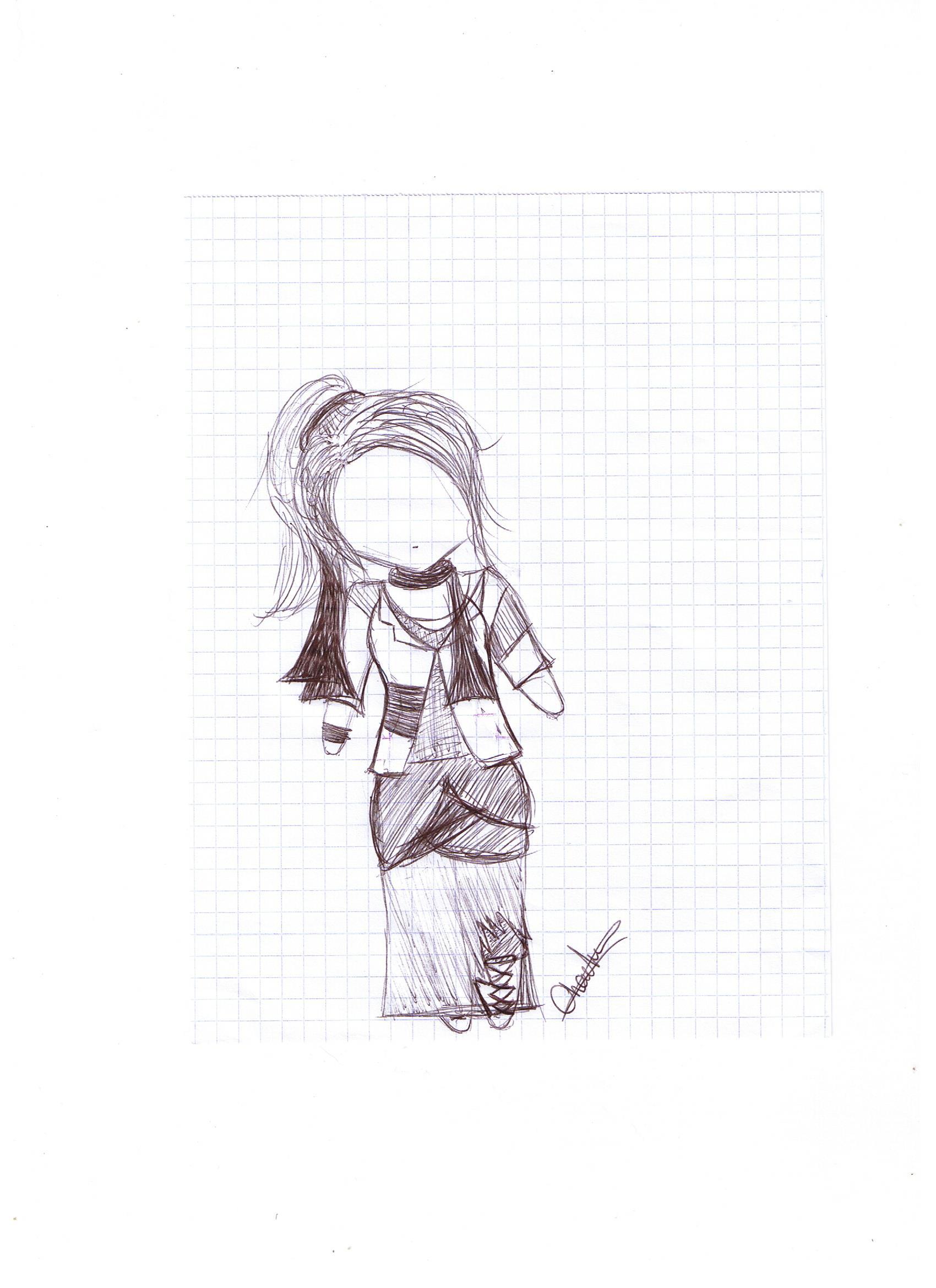 [Dessins] Fan-arts du Visiteur du Futur 1415388353-neov-clocharde-jupe