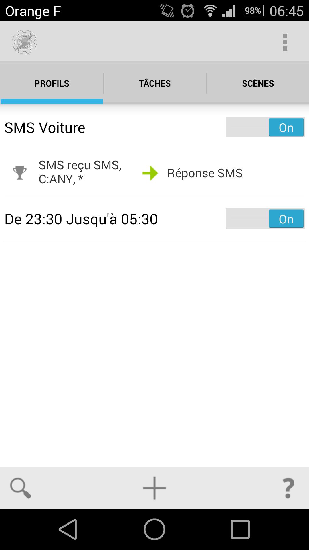 [APP] Tasker : Personnaliser et automatiser des tâches sous Android [Trial/Payant] - Page 6 1423029040-screenshot-2015-02-04-06-45-19