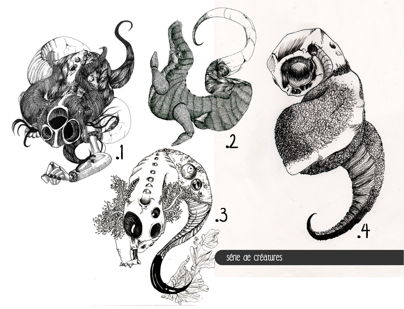 Ici, montrez-nous vos dessins! 1427650143-1-serie-de-creatures