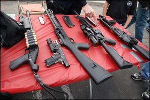 #SCD Nombreuses saisies sur le quartier de Lexington en guise de répression. 1443105898-lapdgun