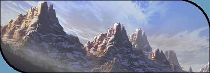 Les monts caverneux