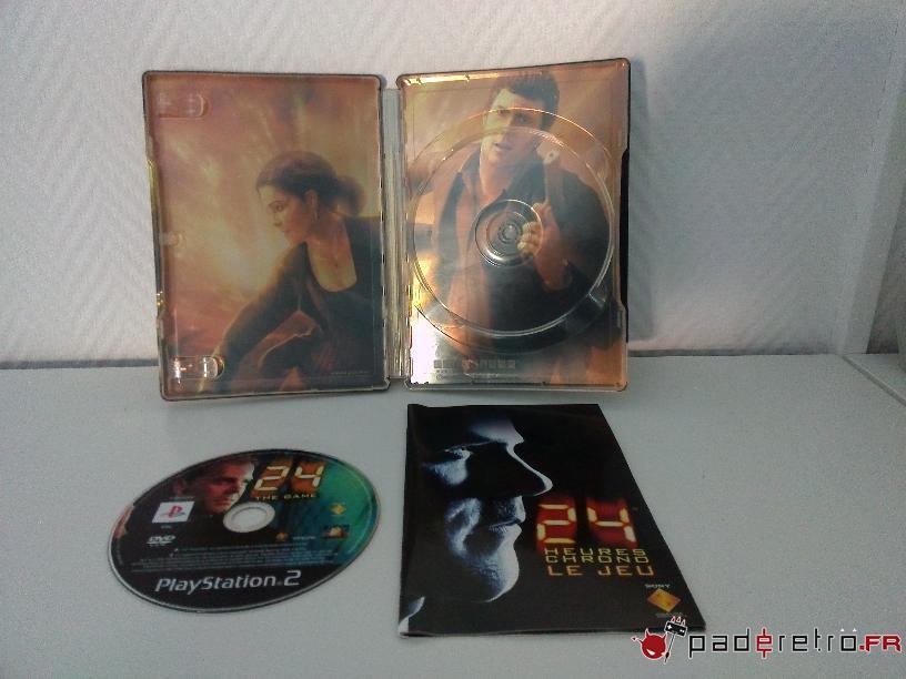 [COLLECTION] Présentation des éditions collectors / limitées de la PS2 PAL FR 1489850848-24h-chrono-collector-detail