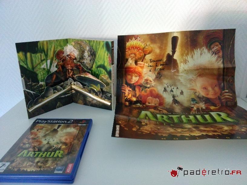 [COLLECTION] Présentation des éditions collectors / limitées de la PS2 PAL FR 1489851062-arthur-et-les-minimoys-collector-ps2-detail
