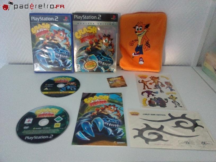[COLLECTION] Présentation des éditions collectors / limitées de la PS2 PAL FR 1489851624-crash-of-the-titans-collector-detail
