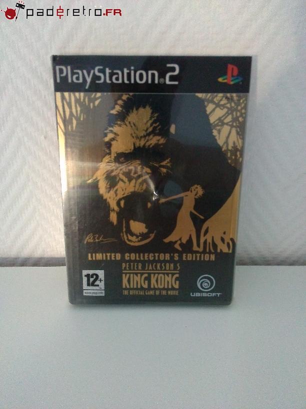 [COLLECTION] Présentation des éditions collectors / limitées de la PS2 PAL FR 1489853394-king-kong-collector