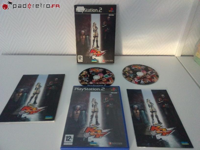[COLLECTION] Présentation des éditions collectors / limitées de la PS2 PAL FR 1489853943-kof-maximum-impact-collector