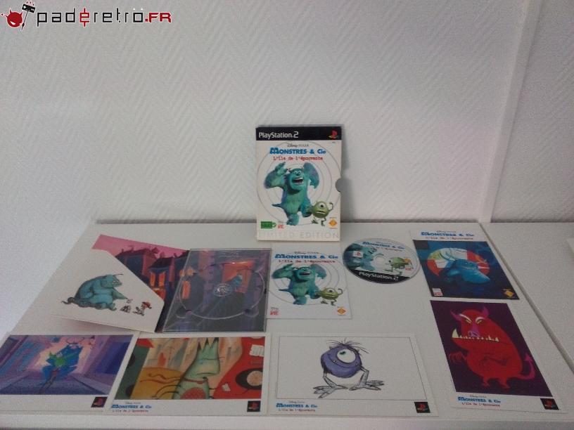 [COLLECTION] Présentation des éditions collectors / limitées de la PS2 PAL FR 1489855506-monstres-co-collector