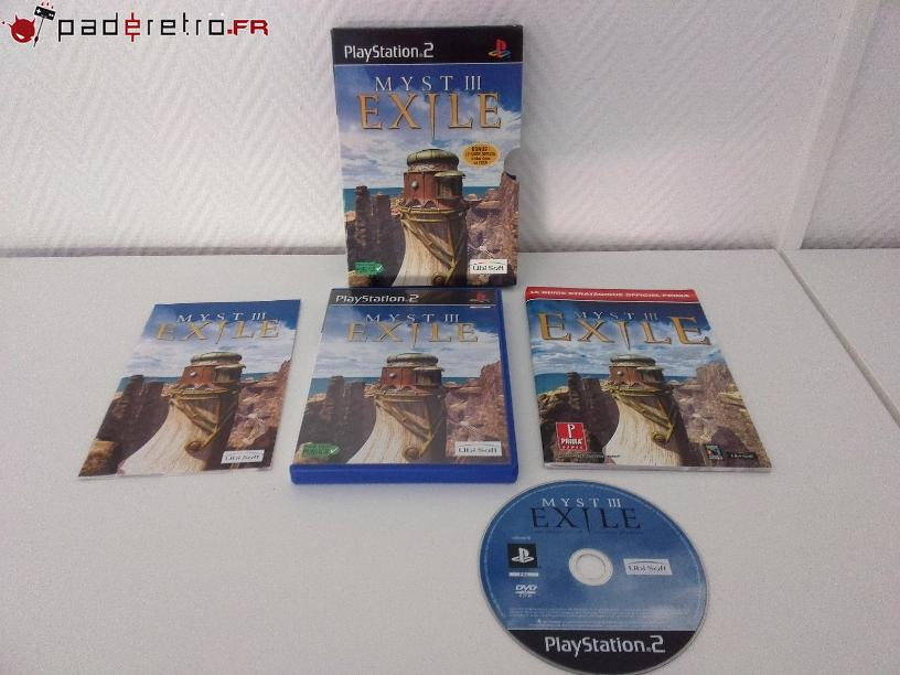 [COLLECTION] Présentation des éditions collectors / limitées de la PS2 PAL FR 1489855742-myst-3-exile-collector