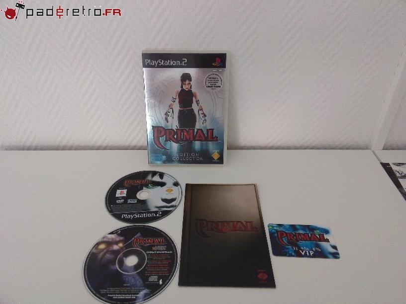 [COLLECTION] Présentation des éditions collectors / limitées de la PS2 PAL FR 1489856575-primal-collector