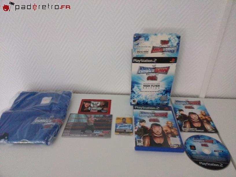 [COLLECTION] Présentation des éditions collectors / limitées de la PS2 PAL FR 1489858328-wwe-smackdown-collector