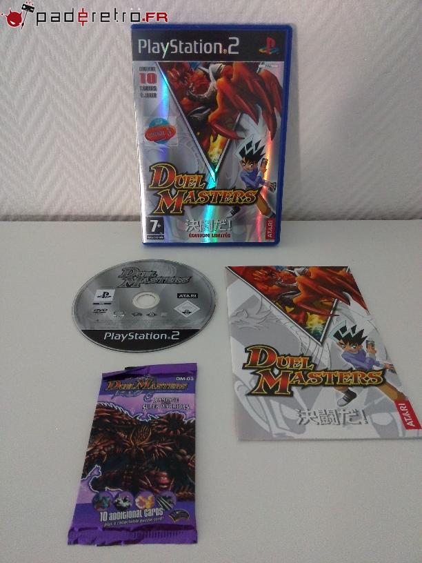 [COLLECTION] Présentation des éditions collectors / limitées de la PS2 PAL FR 1489858544-duel-masters-collector
