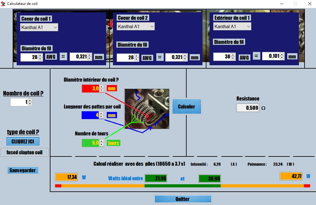 Nouveau logiciel ToolSaVape CalculateurV1.0.2 1501000253-coilcal
