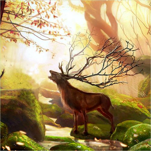 Description des Lieux et monstres présents 1513698304-cerf-royalb