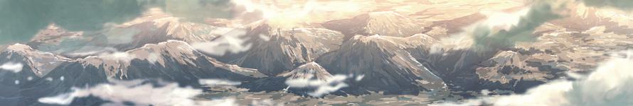 Les Montagnes - Versant Désertique