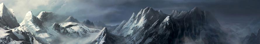 Les Montagnes - Versant Glacé