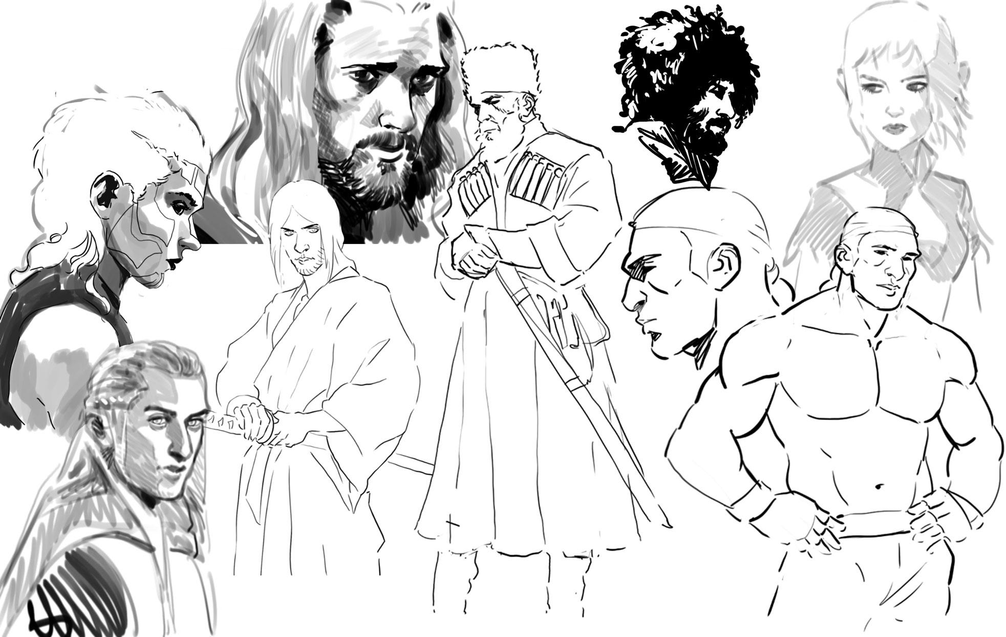 Galerie de dessins, illustrations, divers travaux...  - Page 6 1532333091-1