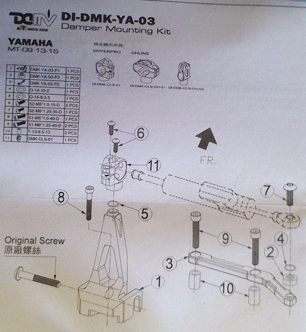 amortisseur de direction avdb  1535474496-montage-amorto-direction