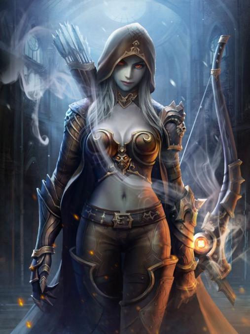 """[Greil] """"La pire calamité après un général bête, c'est un général intelligent."""" [Terminé] 1535583952-girls-warrior"""