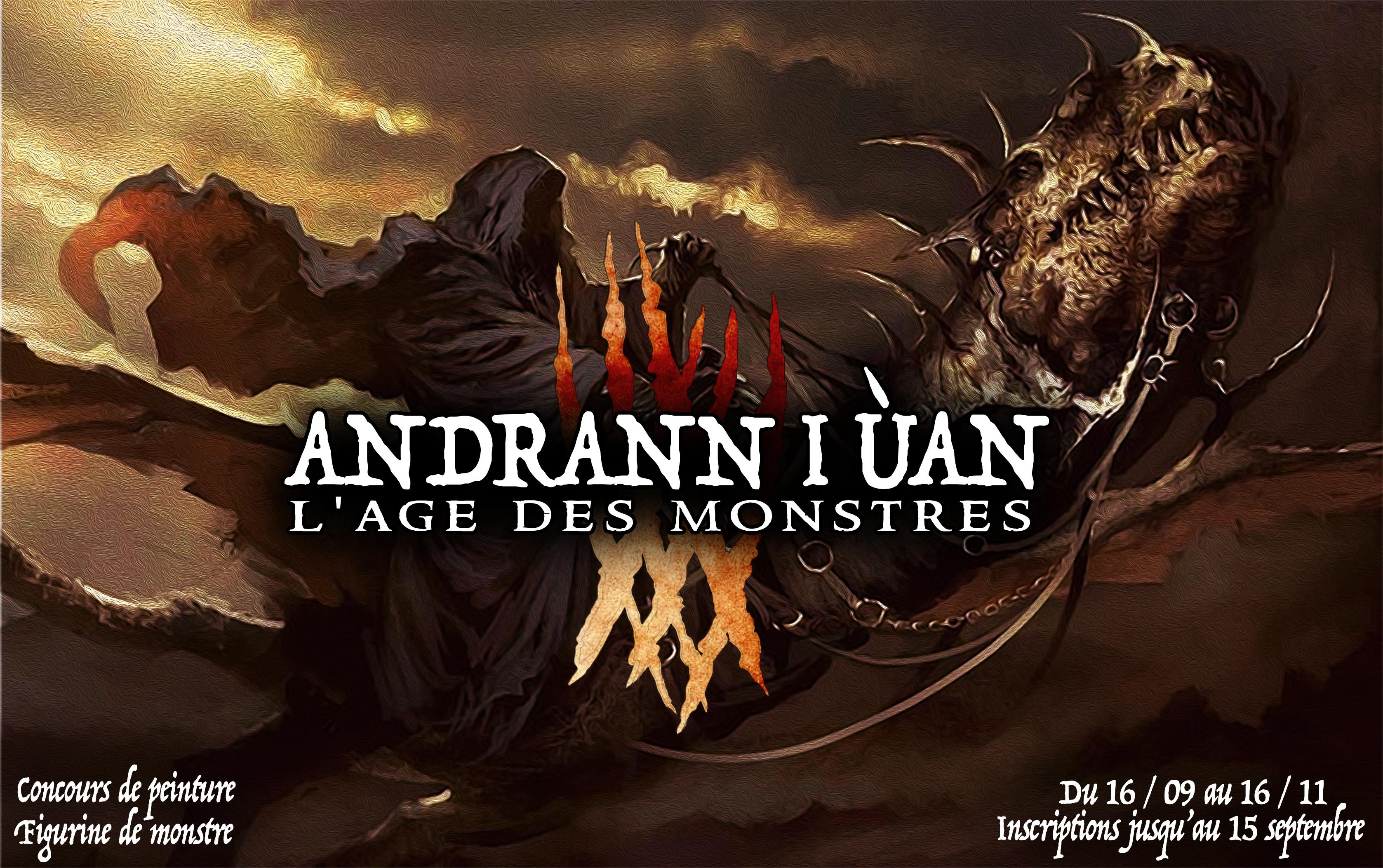 Concours de Peinture n°7: Andrann i ùan - L'Age des Monstres 1536131410-andrann-i-uaan