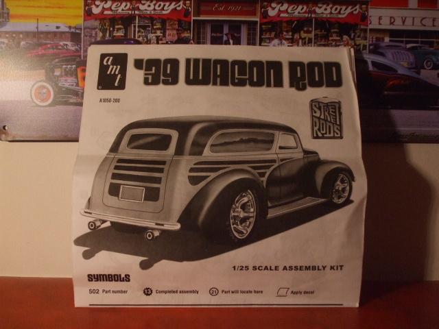 Chevy wagon 1939 - AMT 1/25 1536772203-dscf9433