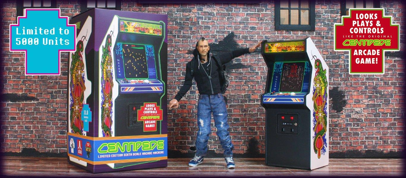 Mini réplique borne arcade Atari : REPLICADE X CENTIPEDE 1537211728-centipede-frontpage