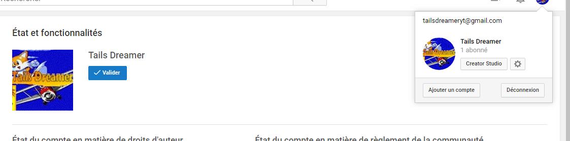 [Relance] [Sondage] [Appel à la population] Une chaîne YouTube pour Tails Dreamer 1541271587-pk1