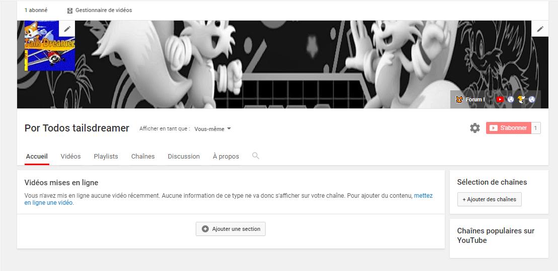 [Relance] [Sondage] [Appel à la population] Une chaîne YouTube pour Tails Dreamer 1541271587-pk2