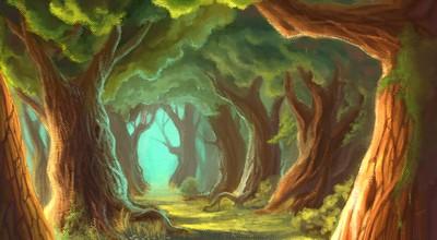 Forêt du Cerf blanc