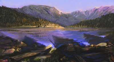 Lac d'Yggdrasil