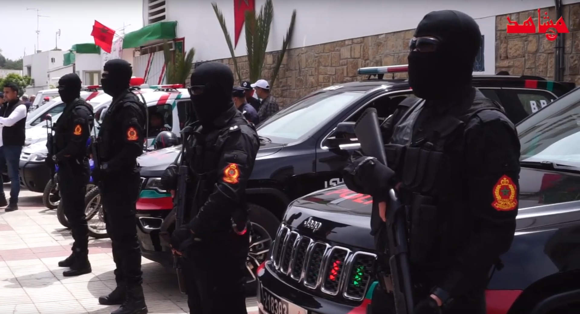 Moroccan Special Forces/Forces spéciales marocaines  :Videos et Photos : BCIJ, Gendarmerie Royale ,  - Page 15 1558058782-screenshot-2