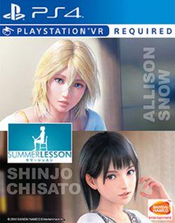 Listing jeux PSVR en boîte 1558942187-summer-lesson-allison-snow-chisato-shinjo
