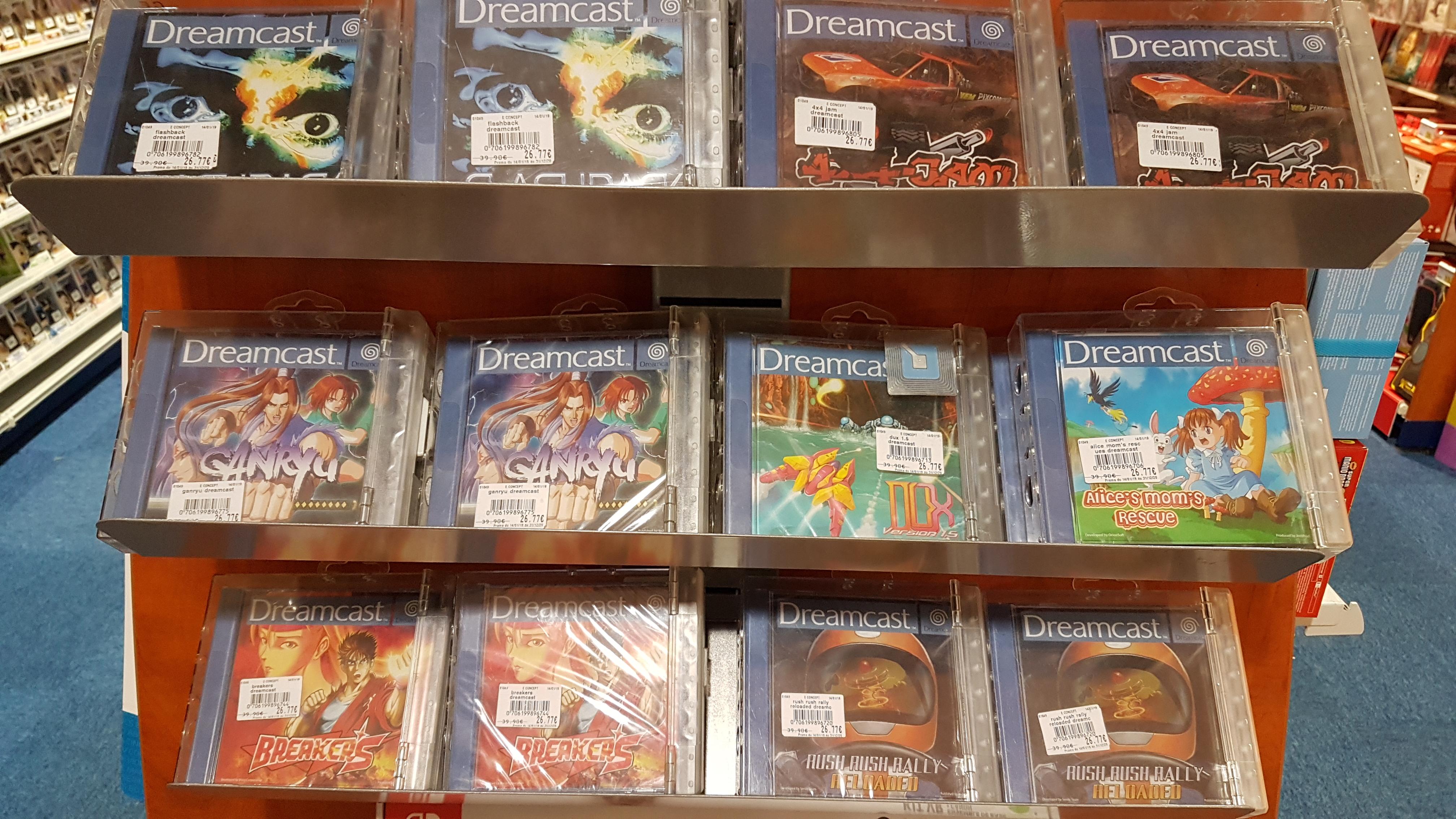 Jeux Dreamcast neuf à Leclerc o_O 1559653509-20190604-150218
