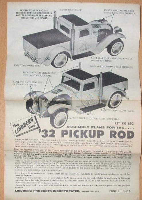 Ford 32 pick-up Lindberg 1/24 1561362859-dscf0070