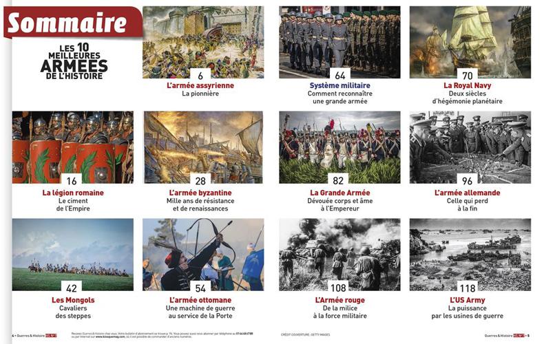 Guerres & Histoire HS n°7 : Les dix meilleures armées de l'histoire 1562869101-guerres-histoire-hors-serie-7-width1024-1