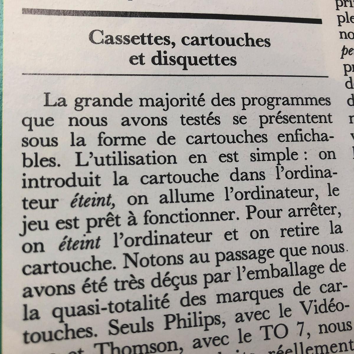 """""""L'ordinateur de jeux"""" de décembre 82 : revue nostalgique ! 1568398527-05"""