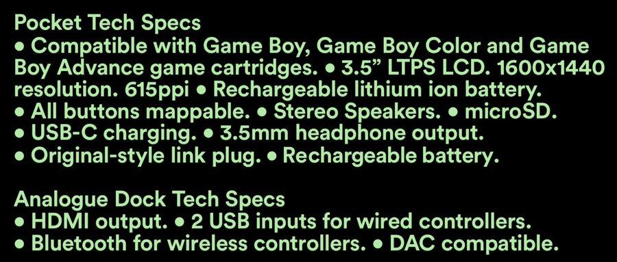 Analogue Pocket : console portable haut de gamme pour cartouches BG, GBC, GBA et + 1571257232-ehajazcwwaazmli