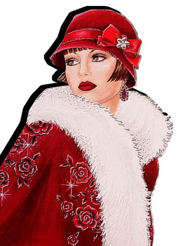 Tubes de Noël et Tubes Nouvel An 1572947098-femme-24-mu