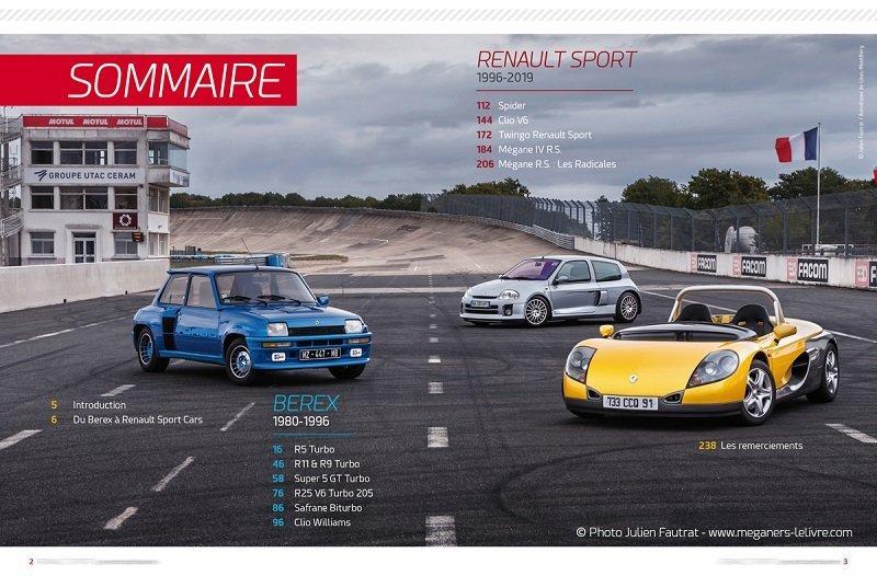 Livre : avec R9/R11/S5 GTT et R5 Turbo - Cléon-Fonte 1573389301-002-003-sommairefb
