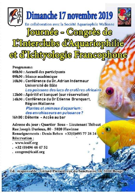 Journée-Congrès ICAIF avec la Société Aquariophile Wallonne (Belgique) 1573405219-journee-congres-icaif-avec-la-societe-aquariophile-wallonne