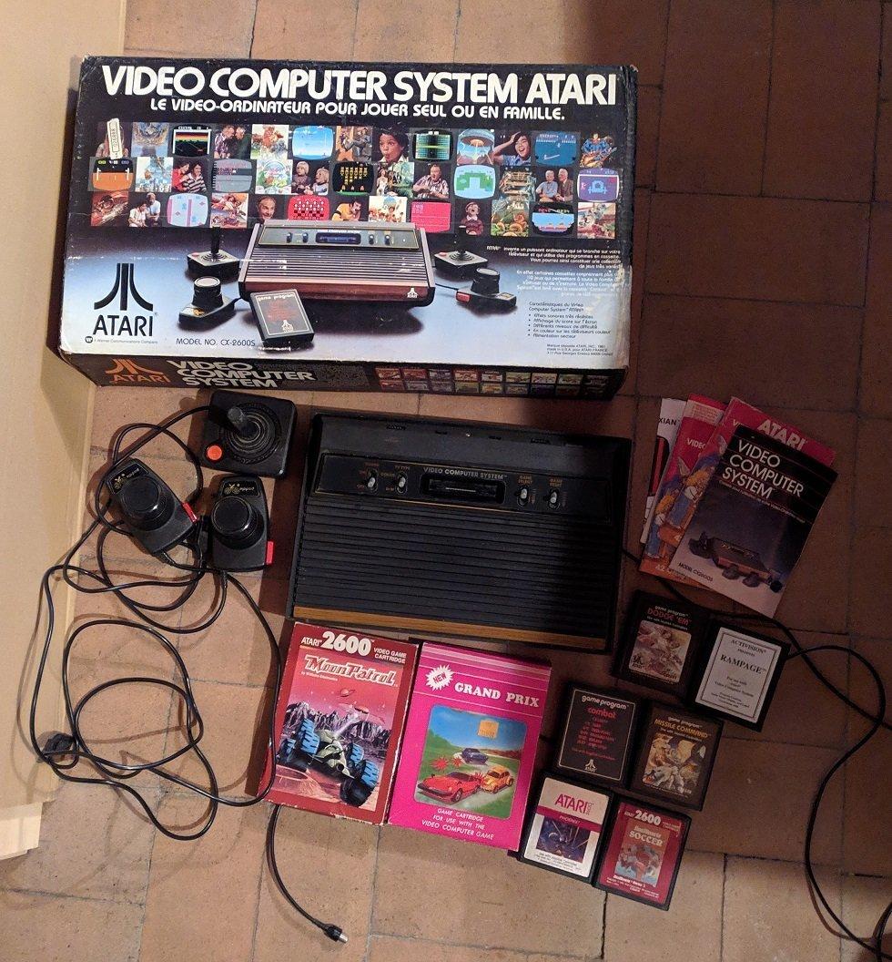 Lot Console Atari 2600 bois + jeux 1573558068-mvimg-20191027-143024