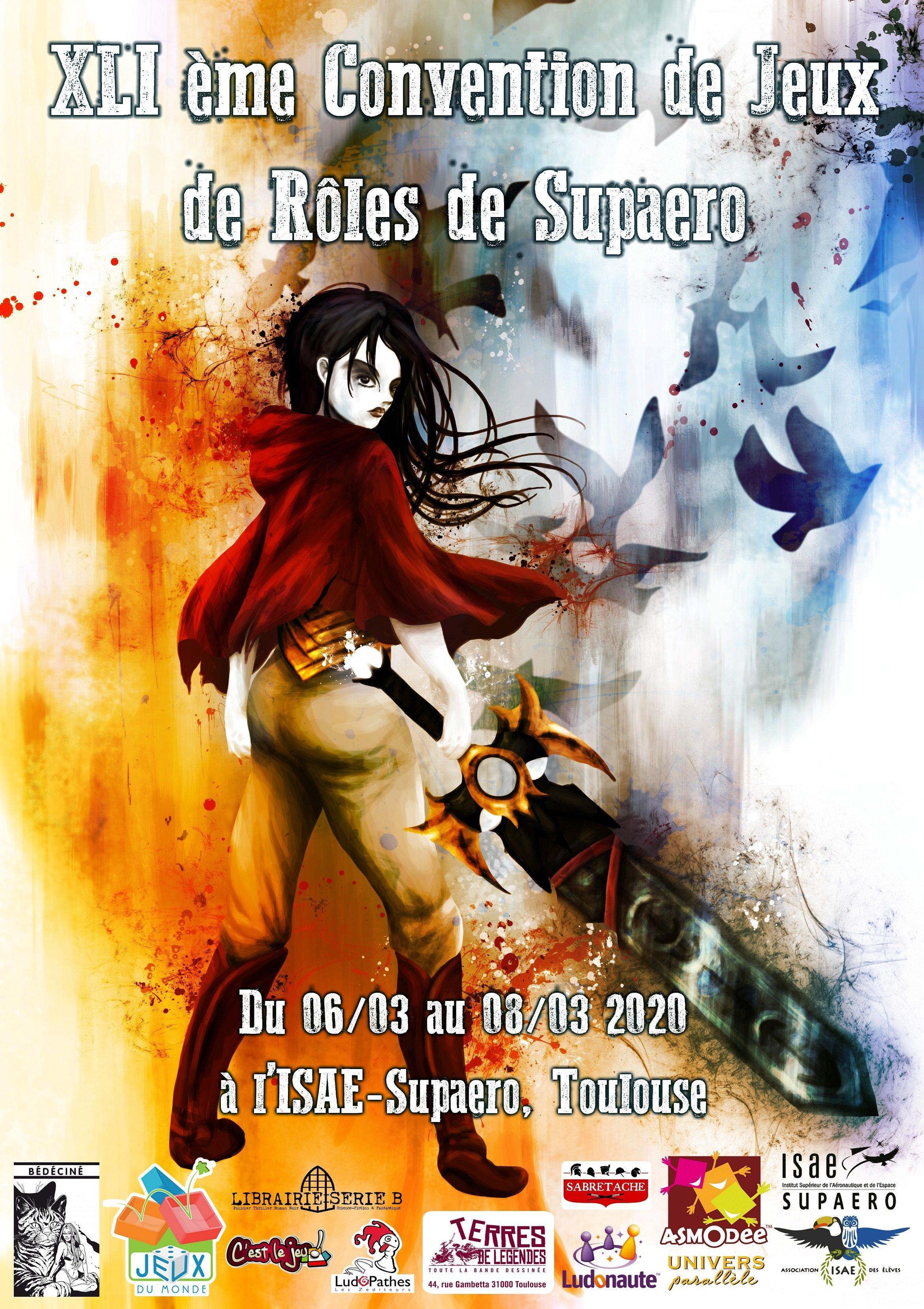 6-8 mars 2020 - 41ème Convention de JDR de Supaéro, Toulouse 1578745045-affiche-logo-et-date-2