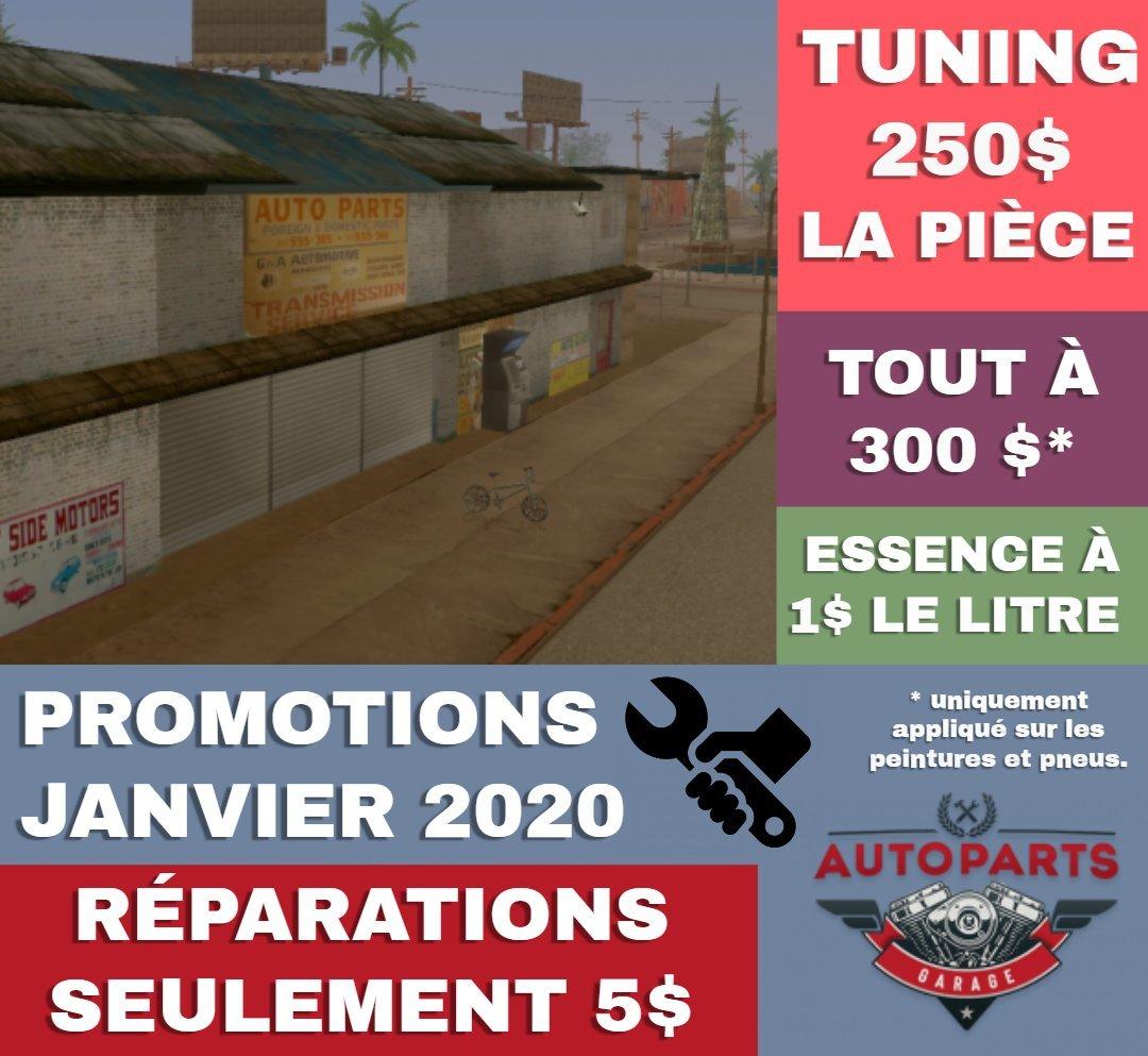 AUTOPARTS - Promotions Janvier 2020 1580133304-autopartsflyer