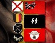 Wallonie : Sous-officiers & Soldats de la Légion / Sturmbrigade / Division Wallonien