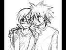 HaganeShipping [Pierrick/Roark/Hyouta x Armand/Riley/Gen] 1408988278-m-rakugaki98
